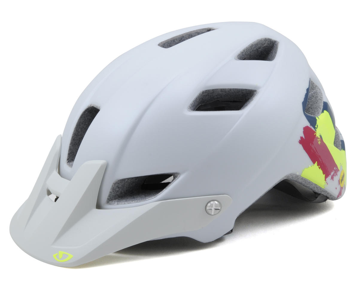 Giro Feather MIPS Women's MTB Helmet (White Brush Strokes)