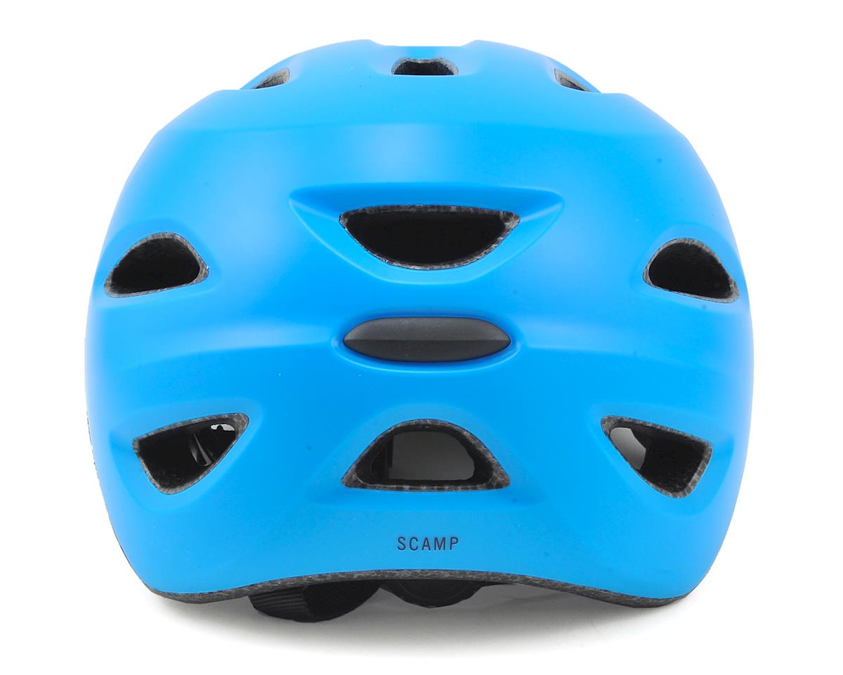 Image 2 for Giro Kids's Scamp Bike Helmet (Matte Blue/Lime) (XS)
