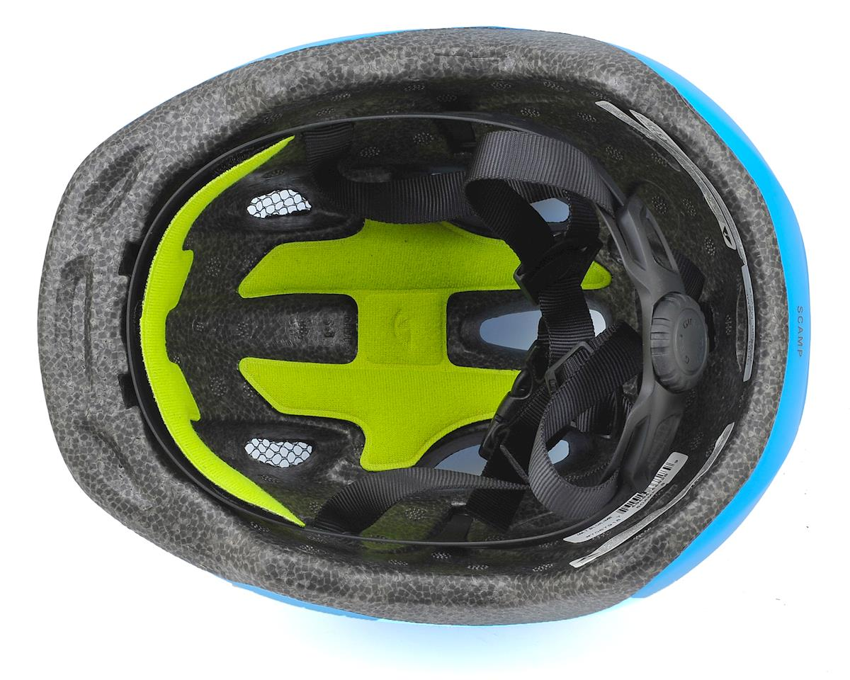 Image 3 for Giro Kids's Scamp Bike Helmet (Matte Blue/Lime) (XS)