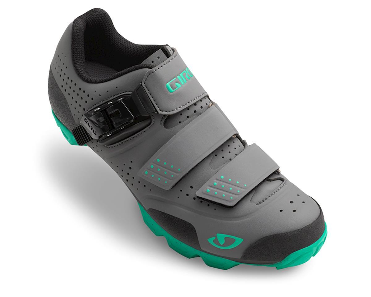 Giro Manta R Women's MTB Shoe ('16) (Charcoal/Turquoise) (39)