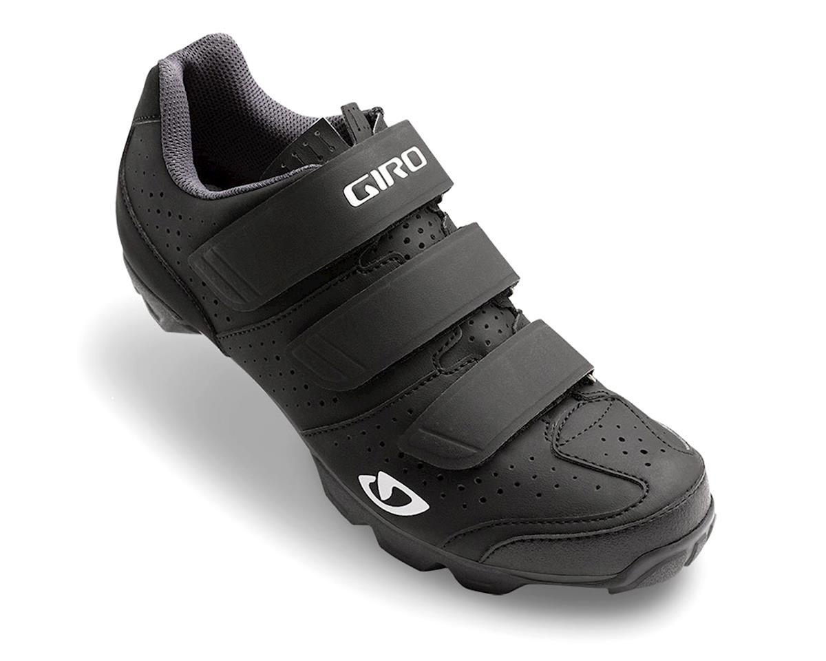 Giro Riela R Women's MTB Shoe (Black/Charcoal) (39)