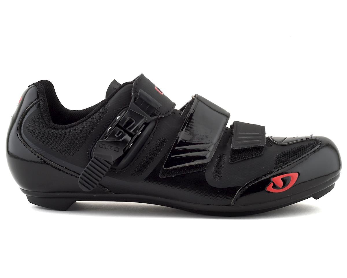 Image 1 for Giro Apeckx II HV Road Shoes (Black/Bright Red) (41)