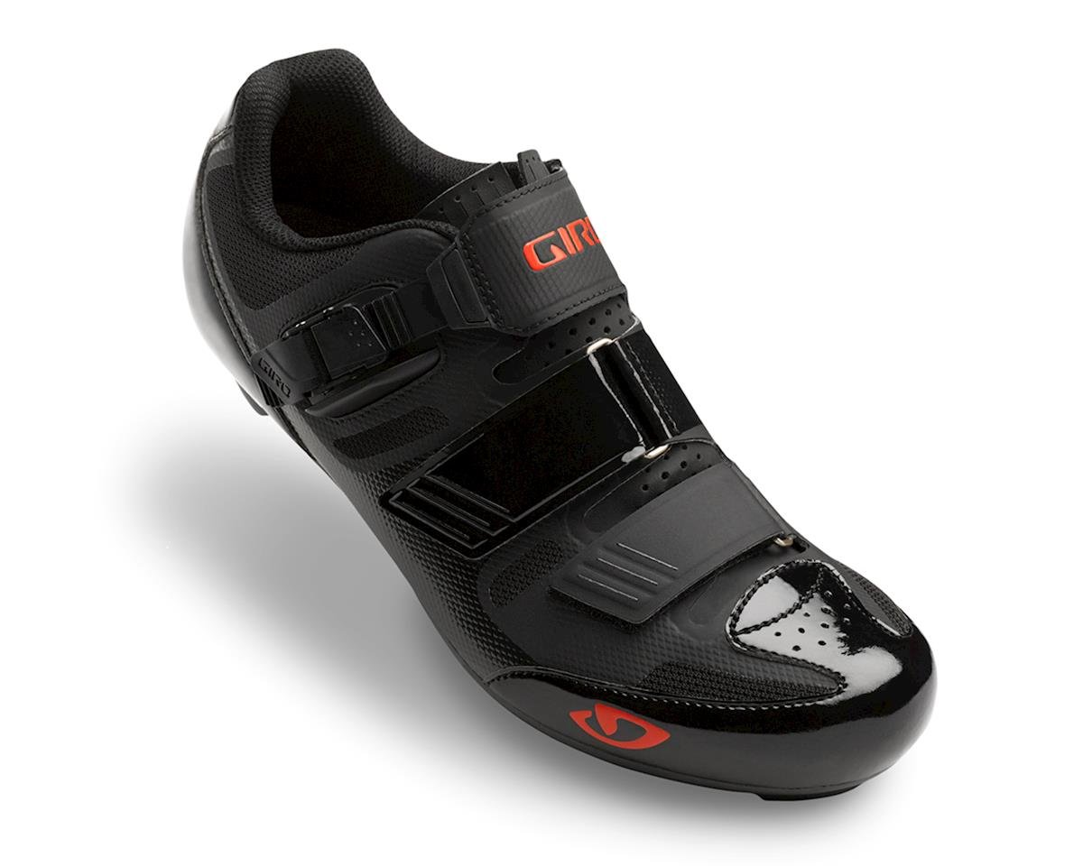 Giro Apeckx II HV Road Shoes (Black/Bright Red) (45 HV)