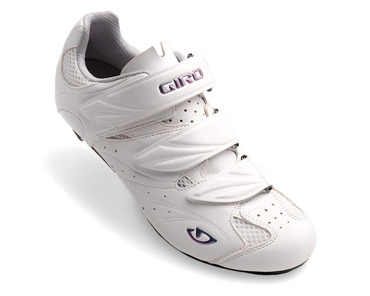 Giro Sante II Women's Bike Shoes (White/Gloss White) (41)