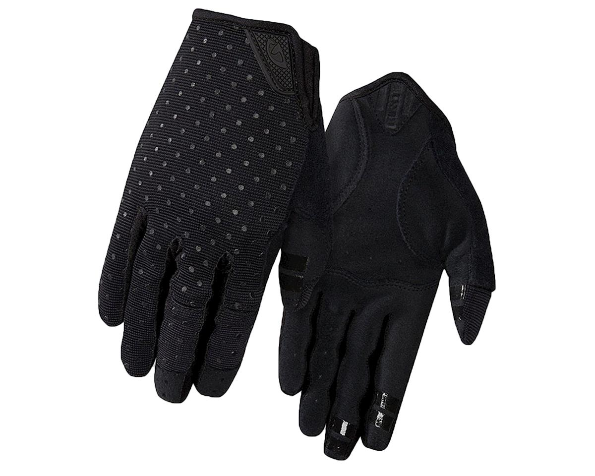 Giro LA DND Women's Long Finger Gloves (Black Dots) (L)