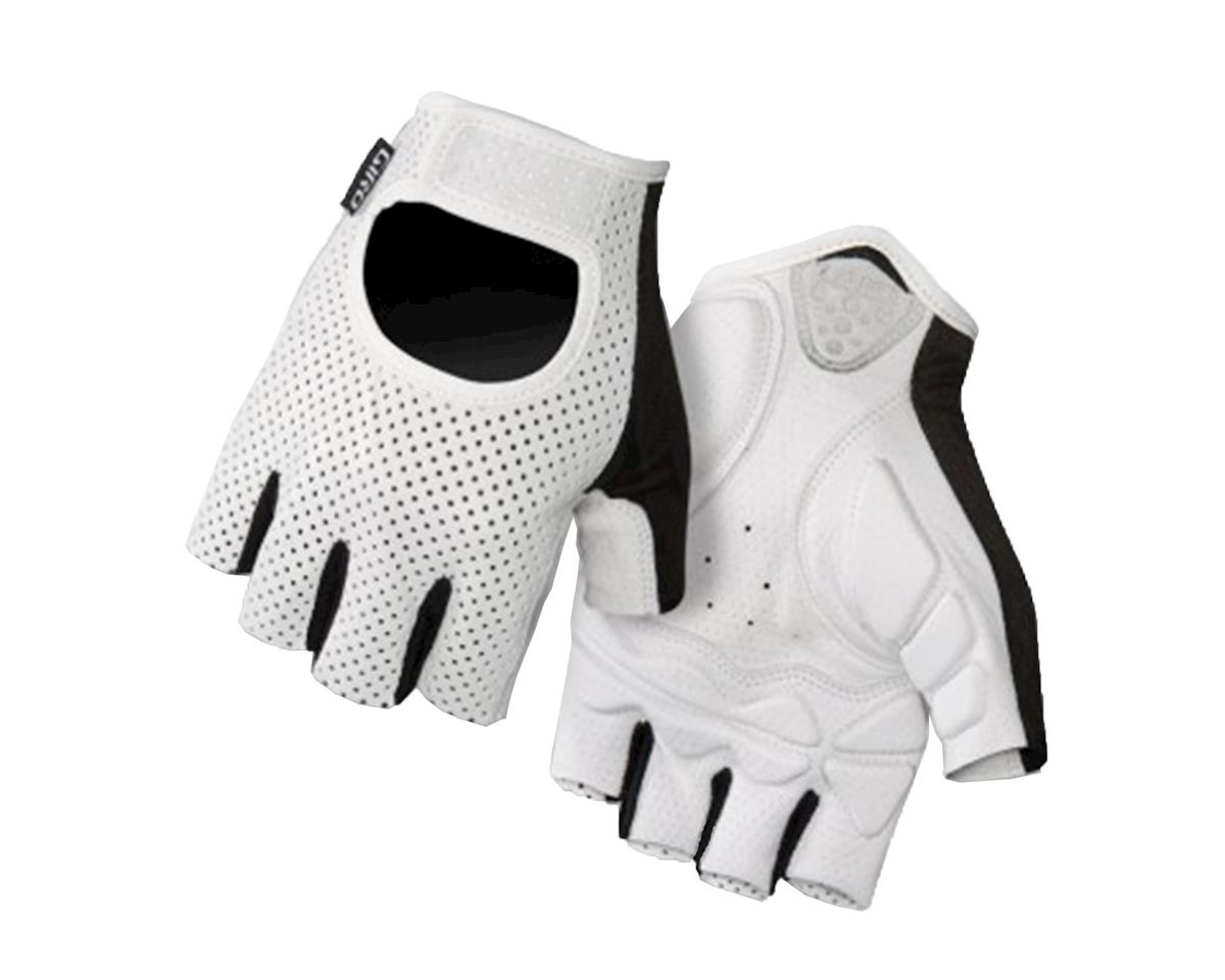 Giro LX Short Finger Bike Gloves (2016) (White) (M)