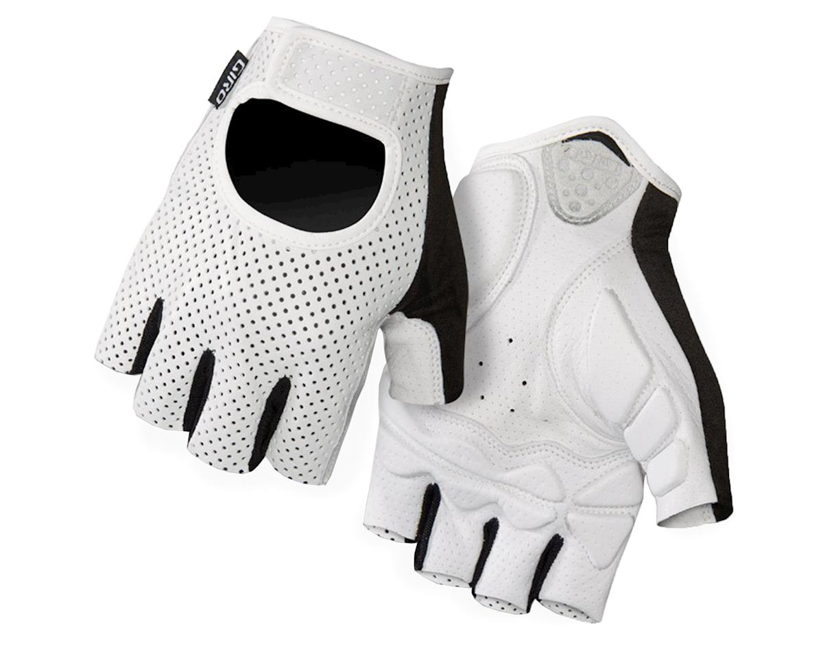 Giro LX Short Finger Bike Gloves (2016) (White) (L)