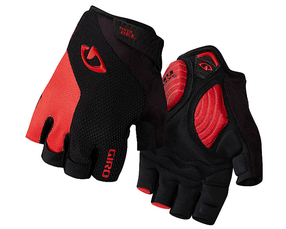 Giro Strade Dure Supergel Cycling Gloves ('16) (Black/Bright Red) (S)