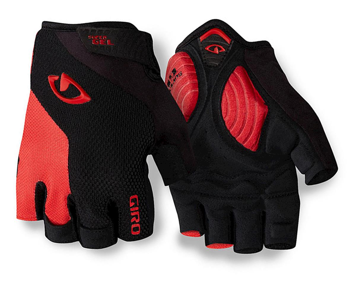 Giro Strade Dure Supergel Cycling Gloves ('16) (Black/Bright Red) (2XL)