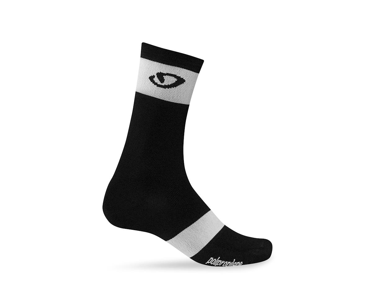 Giro Comp Racer High Rise Socks (Black/White)