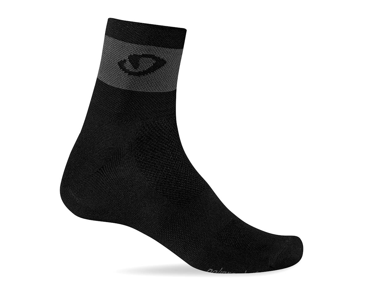 Giro Comp Racer Socks (Black/Dark Shadow) (XL)