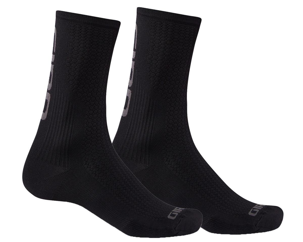 Giro HRc Team Socks (Black/Dark Shadow) (L)