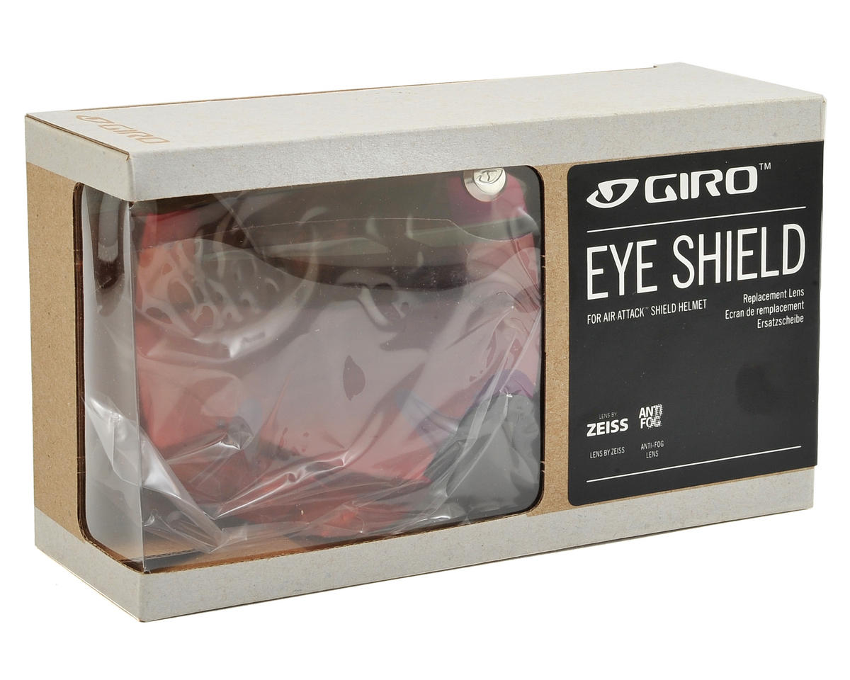 Giro Air Attack Eye Shield (Amber Red)