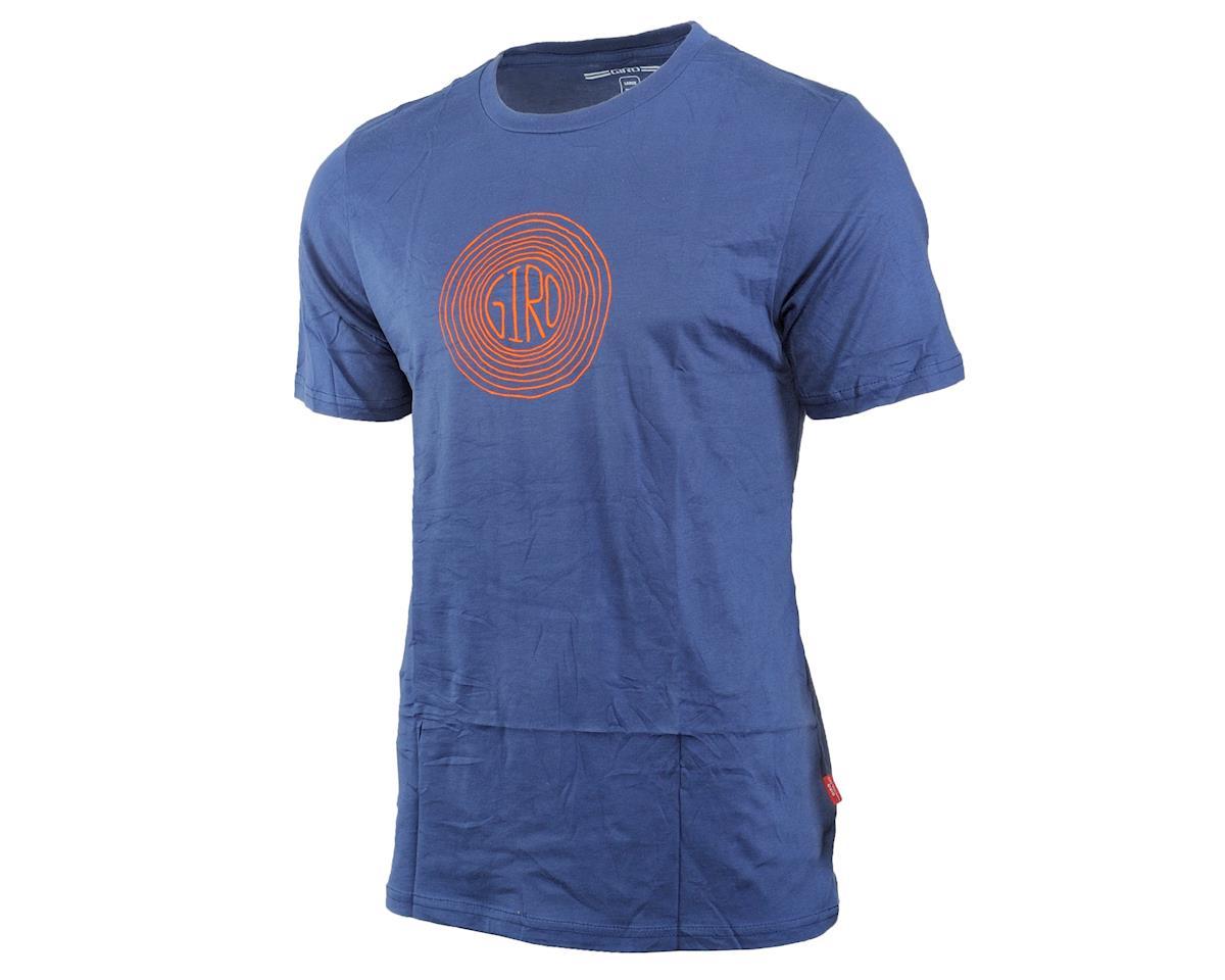 Giro Transfer Tee Shirt (Indigo Redwood) (M)
