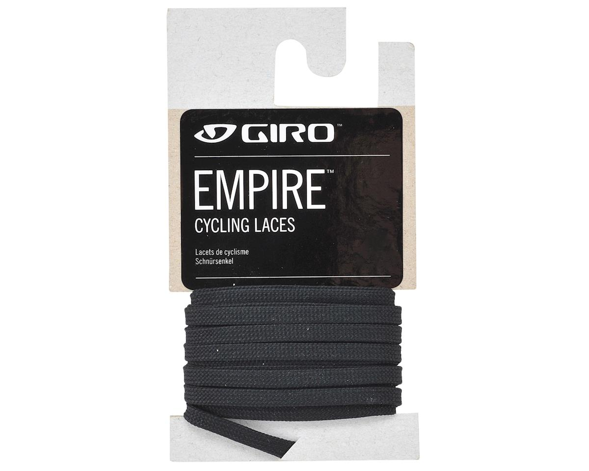"Giro Empire Laces (Black) (50""/132cm)"