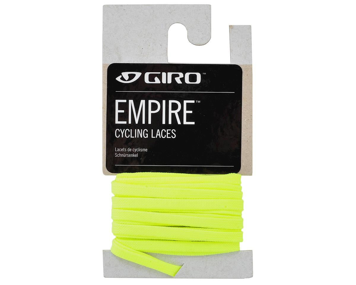 "Giro Empire Laces (Highlight Yellow) (52""/132cm)"