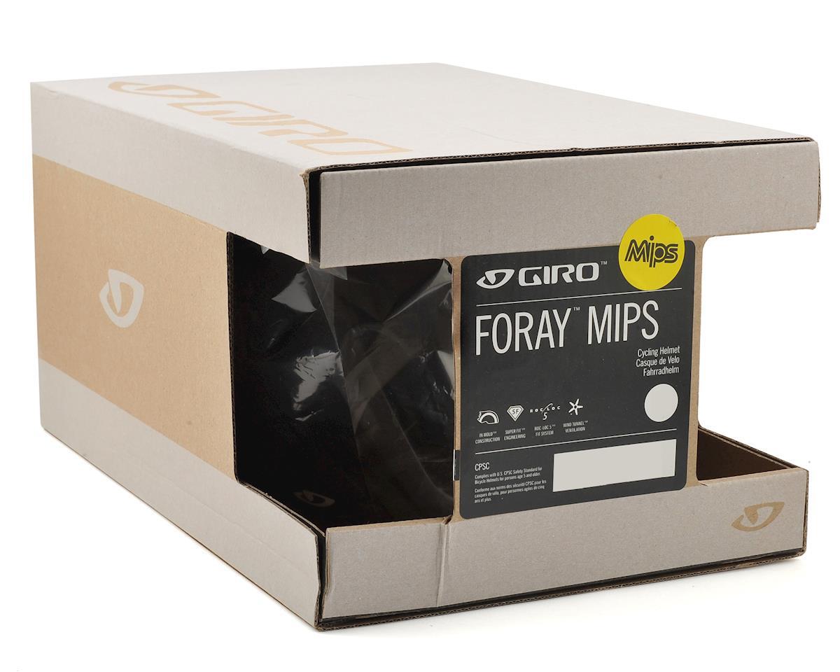 Giro Foray MIPS Road Helmet (Black/White) (L)