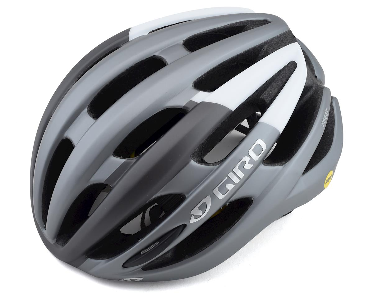 Giro Foray MIPS Road Helmet (Matte Titanium Grey/White) (L)