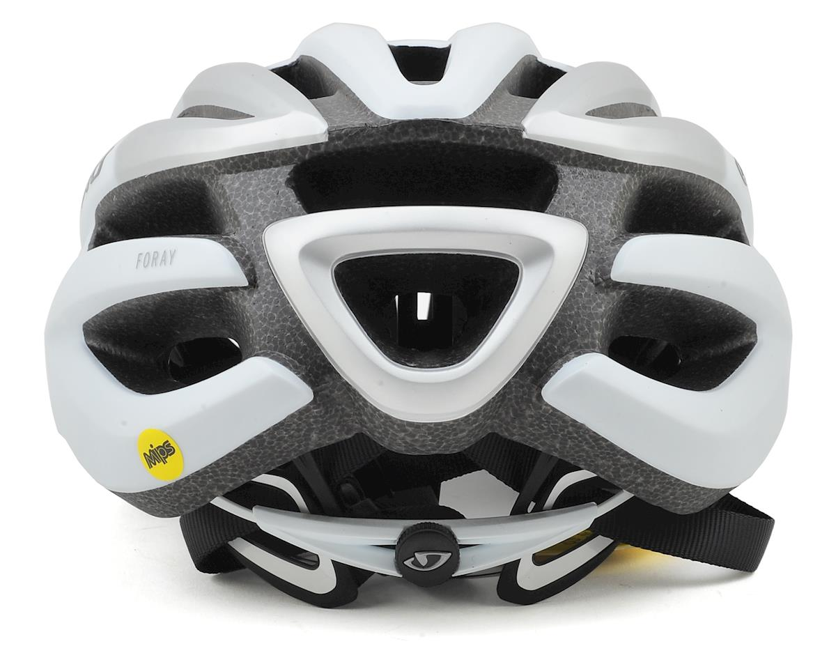 Giro Foray MIPS Road Helmet (Matte White/Silver) (S)