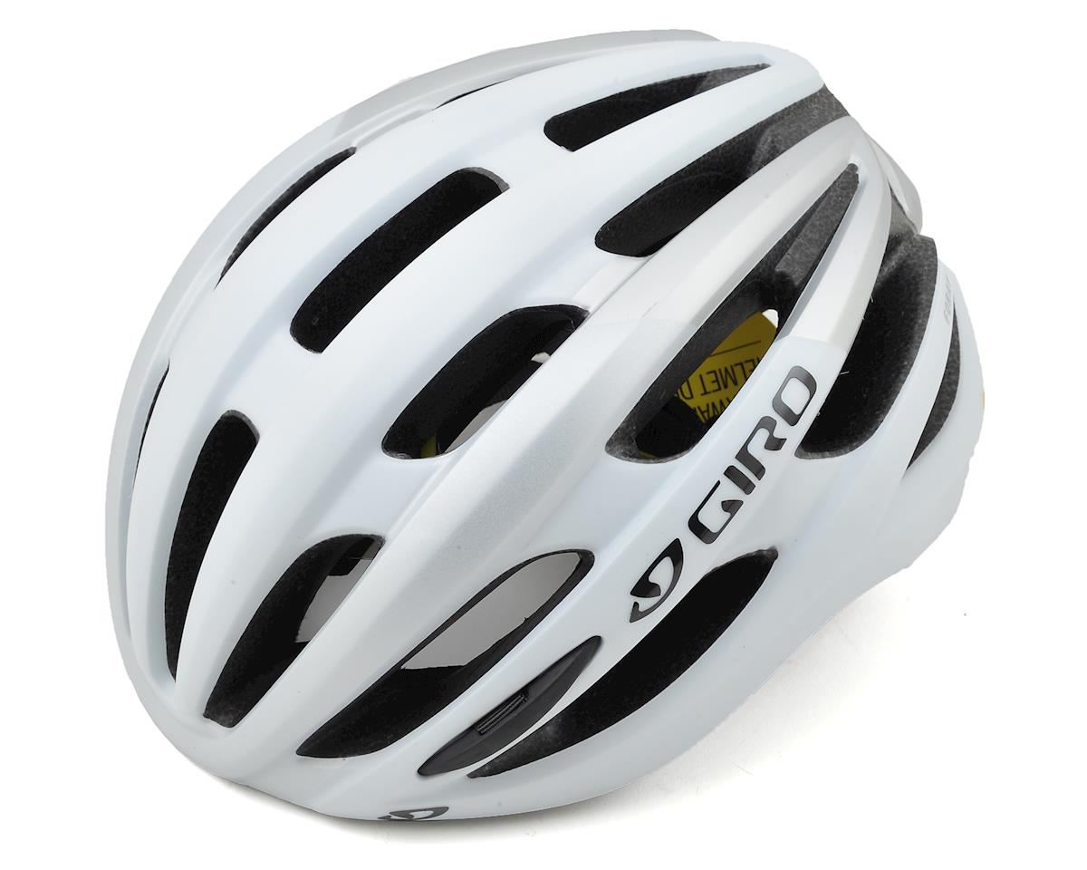 Giro Foray MIPS Road Helmet (Matte White/Silver) (M)