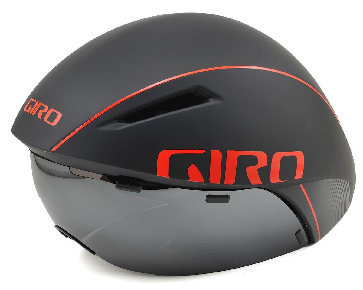 Giro Aerohead MIPS Aero Racing Helmet (Black/Vermillion)