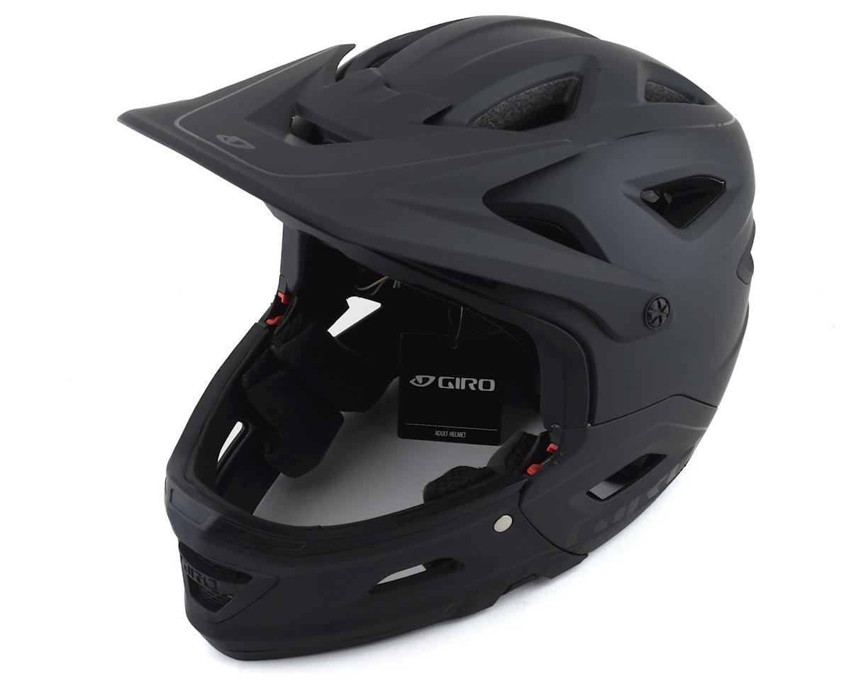 Giro Switchblade MIPS Full Face/Half Shell Helmet (Matte/Gloss Black) (L)