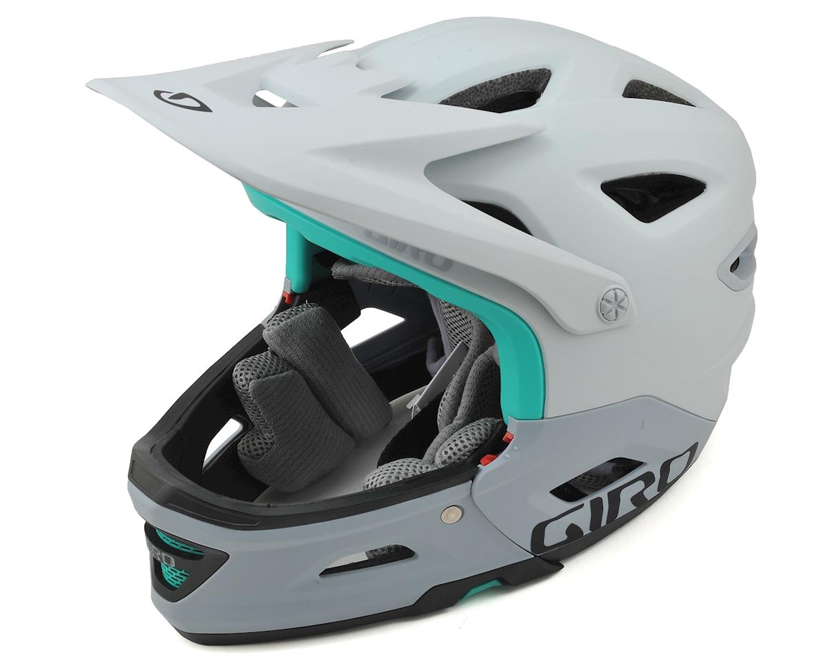 Giro Switchblade MIPS Full Face/Half Shell Helmet (Matte White/Grey)
