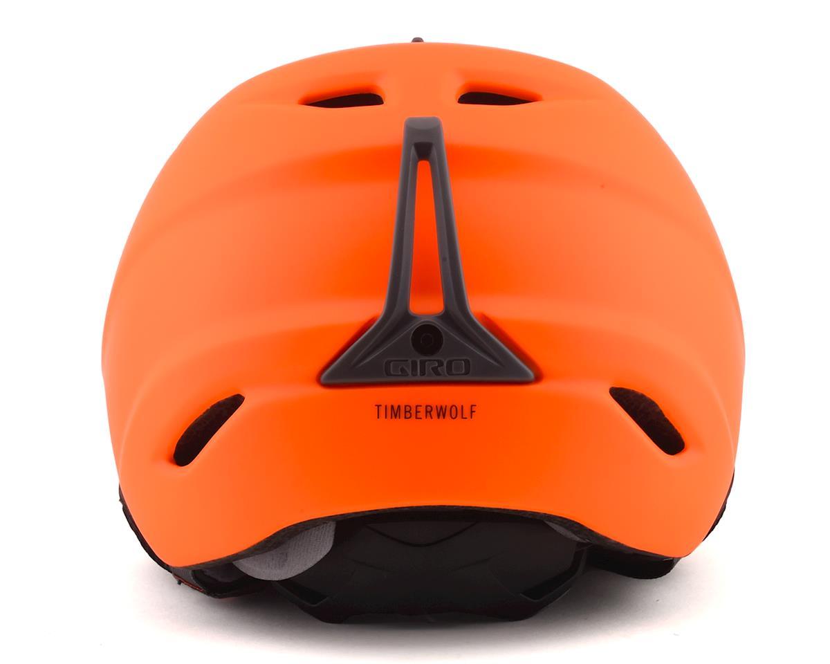 Giro TimberWolf Winter Helmet (Matte Film Orange) (M)