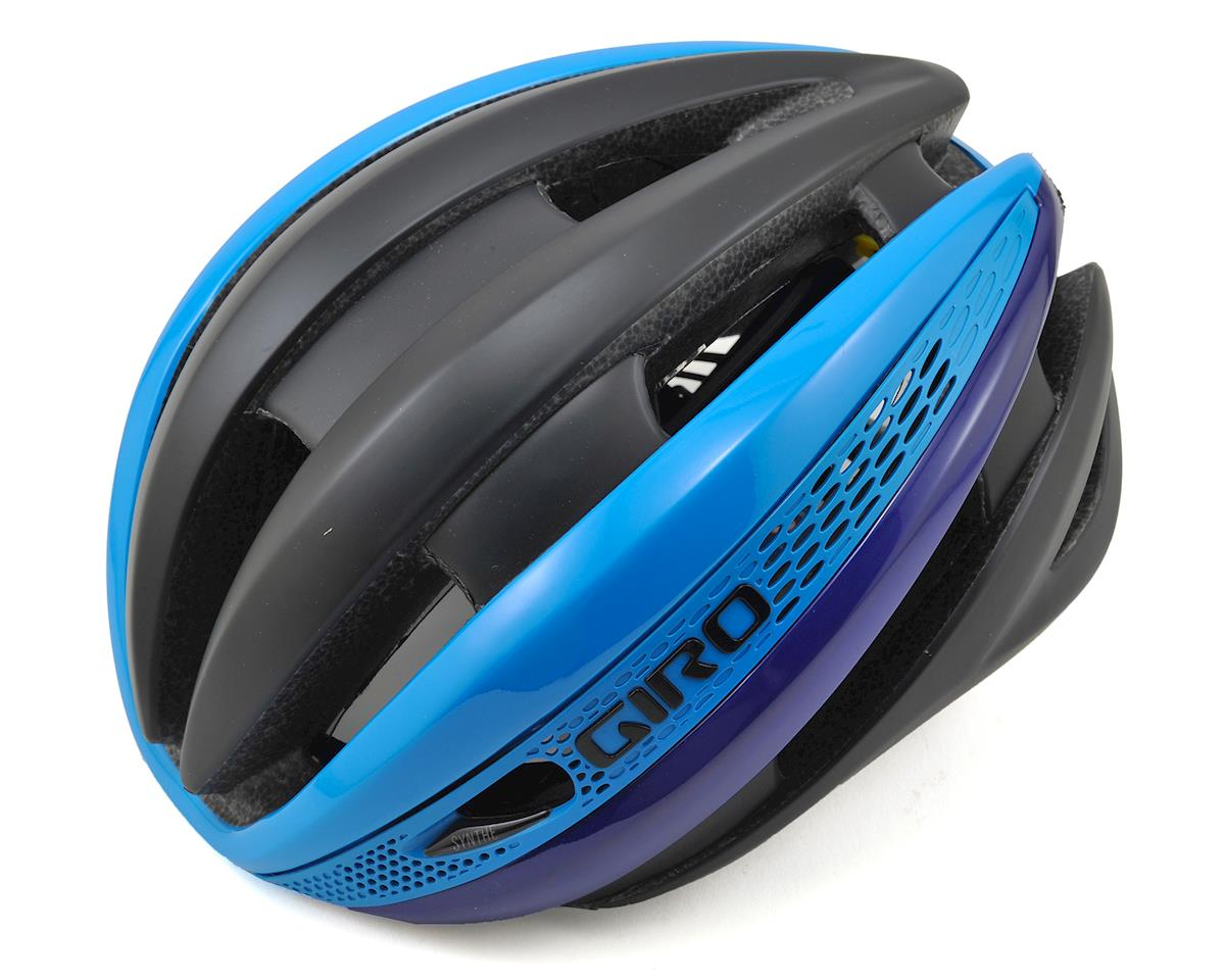 Giro Synthe MIPS Road Helmet (Black/Blue/Purple)