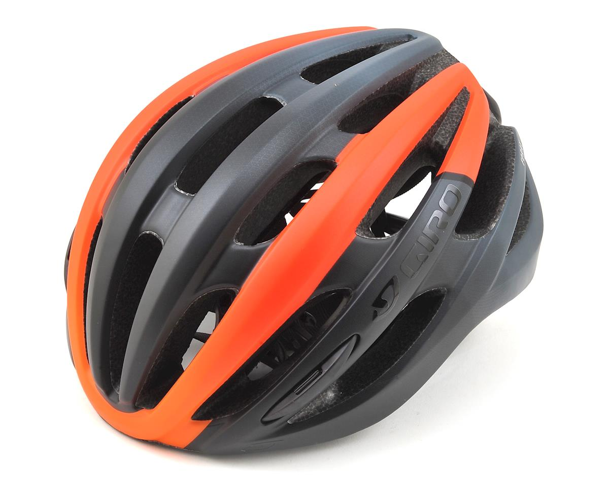 Giro Foray Road Helmet (Matte Black/Vermillion Fade)