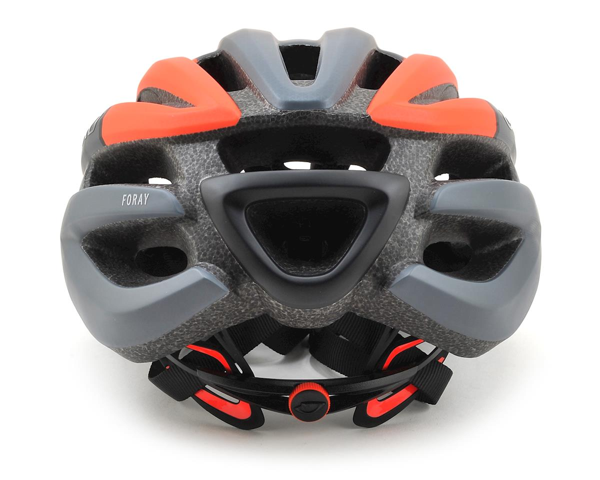 Giro Foray Road Helmet (Matte Black/Vermillion Fade) (S)
