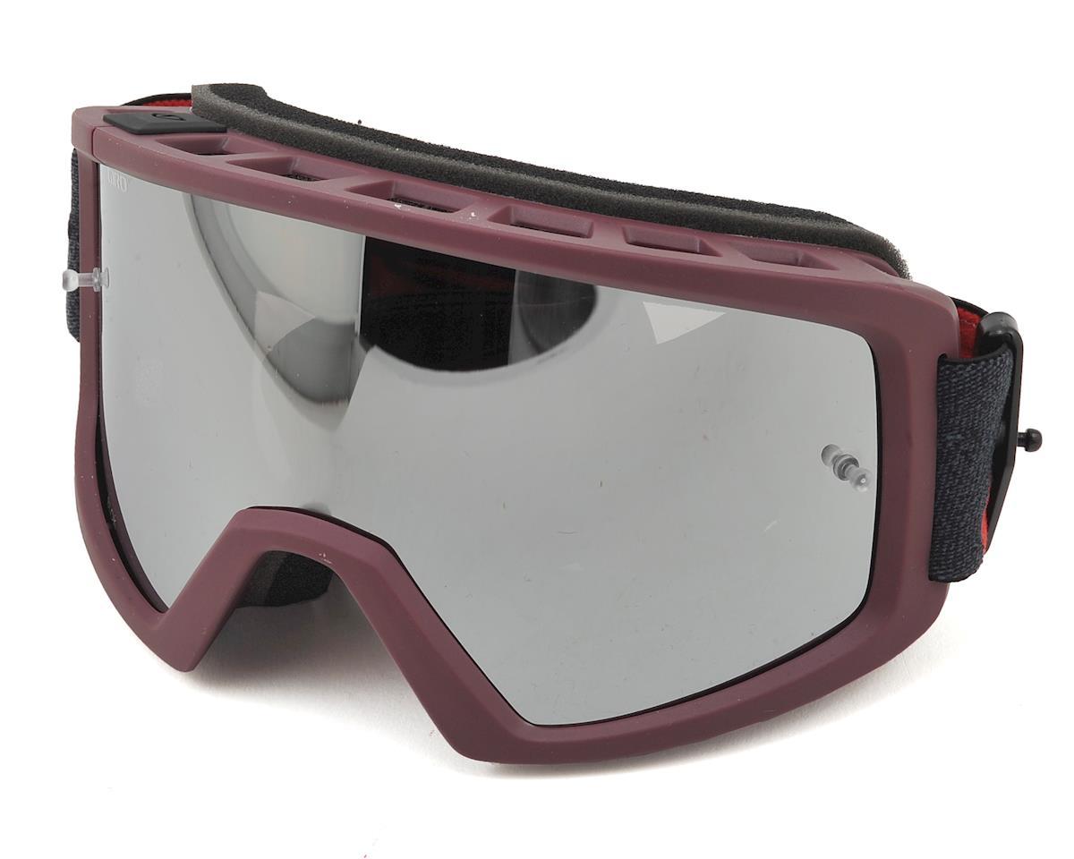 Blok MTB Goggles (Matte Maroon/Slate) (Grey/Silver)