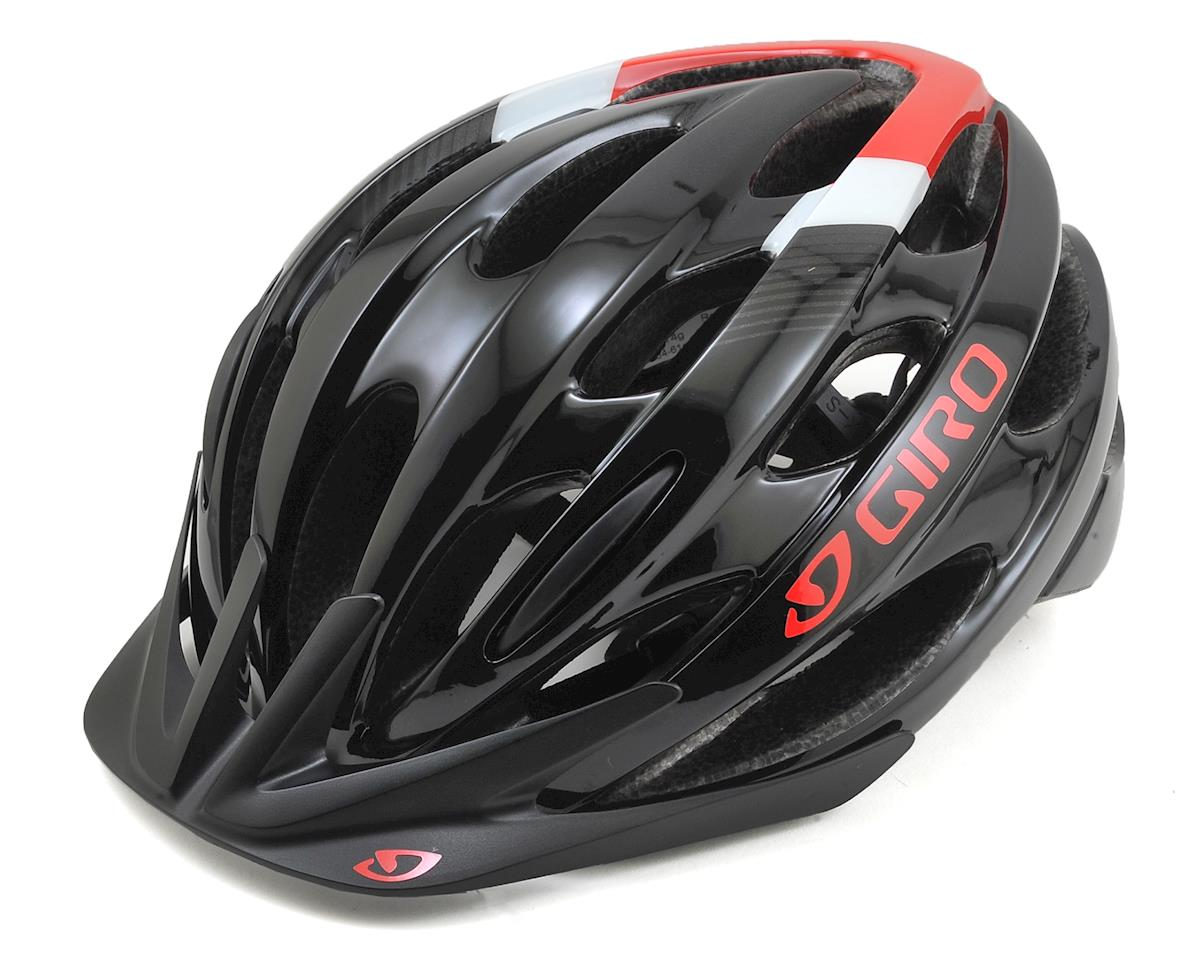 Giro Revel Bike Helmet (Black/Bright Red) (Universal Adult)