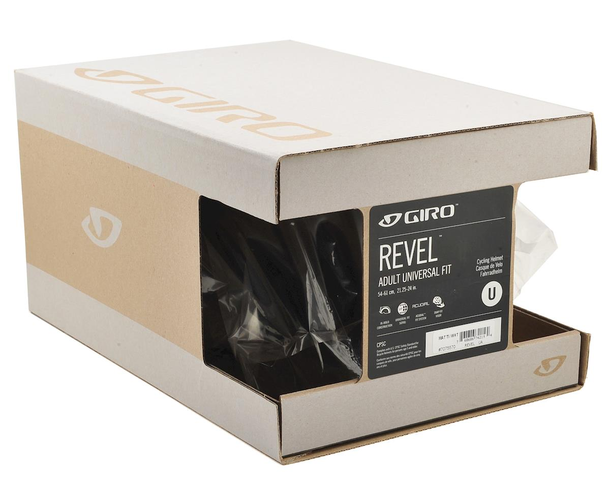 Giro Revel Bike Helmet (Matte Titanium/White) (Universal Adult)