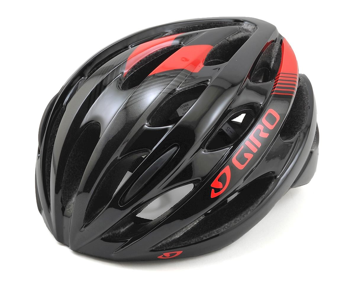 Giro Trinity Road Bike Helmet (Black/Bright Red) (Universal Adult)