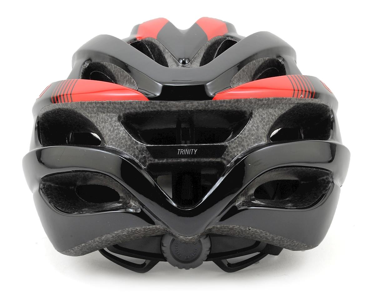 Giro Trinity Road Bike Helmet (Black/Bright Red)