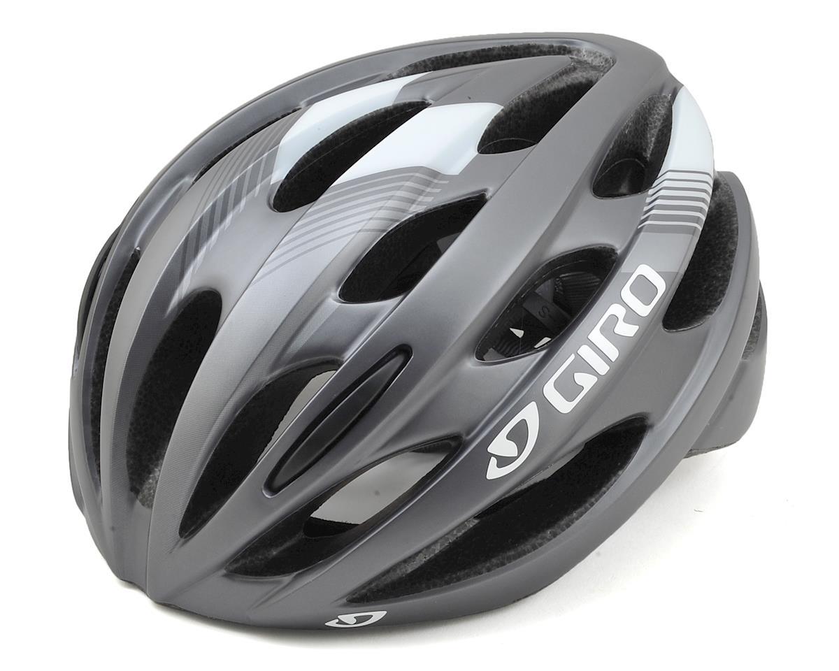 Giro Trinity Road Bike Helmet (Matte Titanium/White)