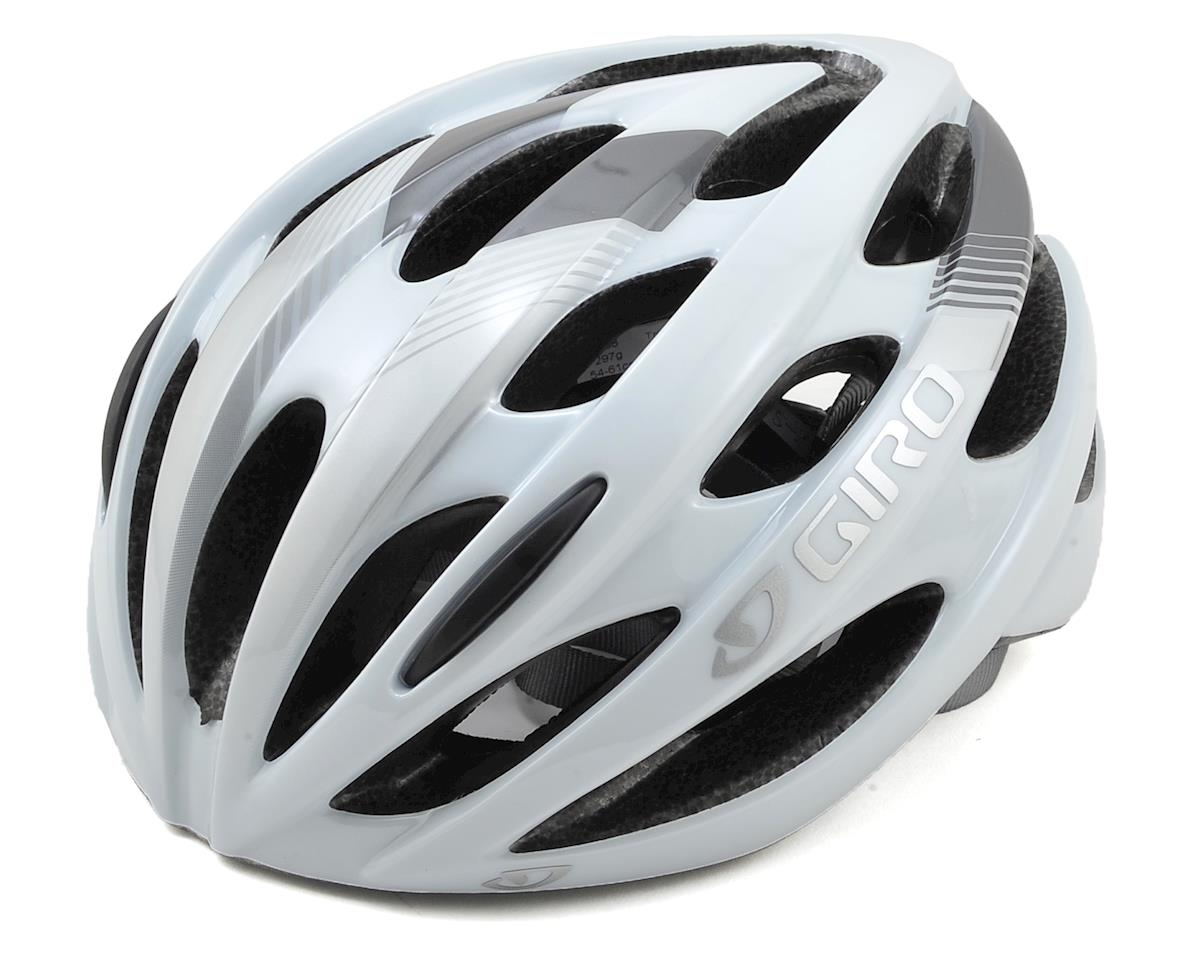 Giro Trinity Road Bike Helmet (White/Grey)