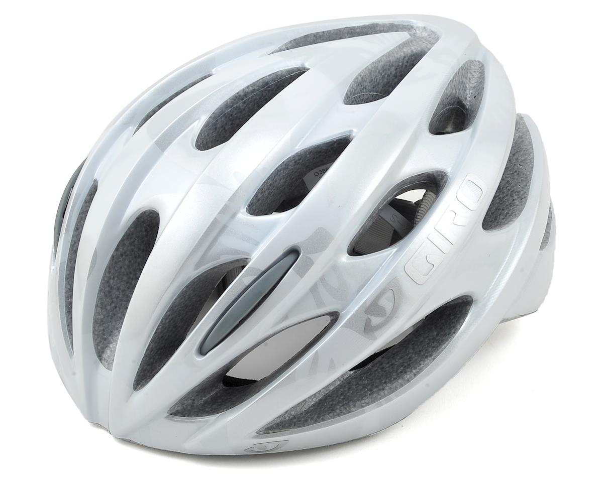 Giro Trinity Road Bike Helmet (White/Silver Flowers)