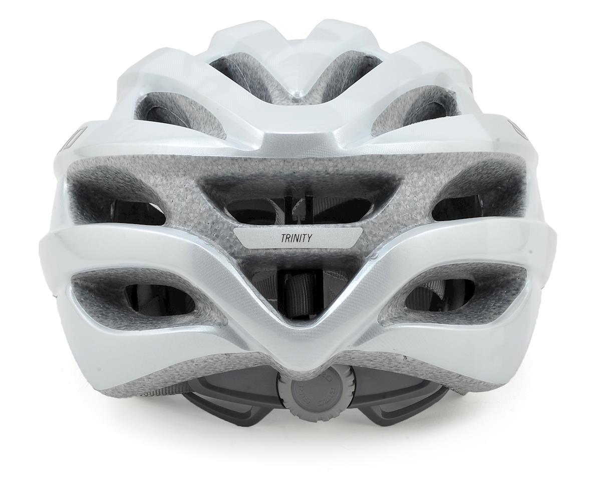 Giro Trinity Road Bike Helmet (White/Silver Flowers)