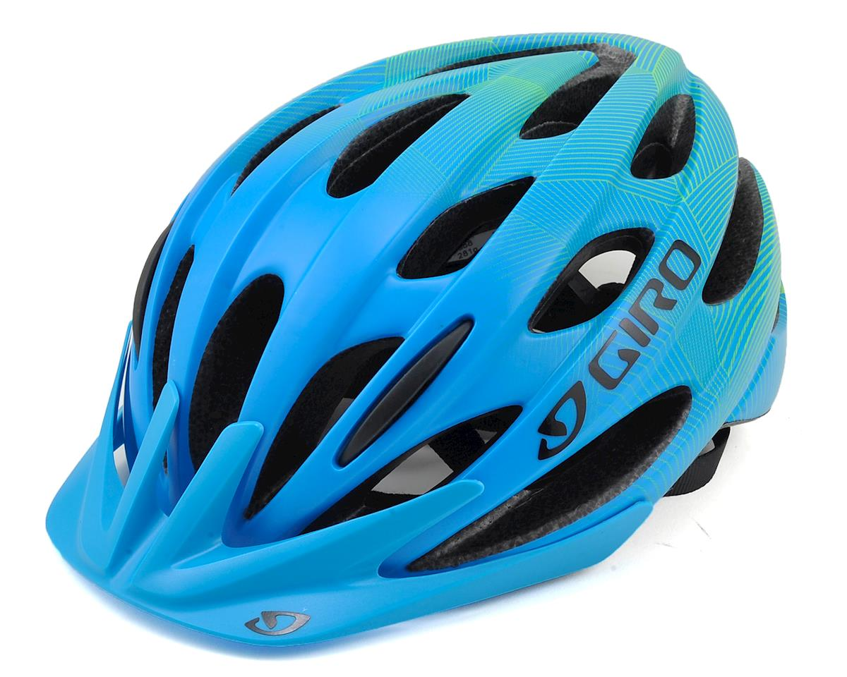 Giro Raze Youth Bike Helmet (Matte Blue/Lime) (One Size)