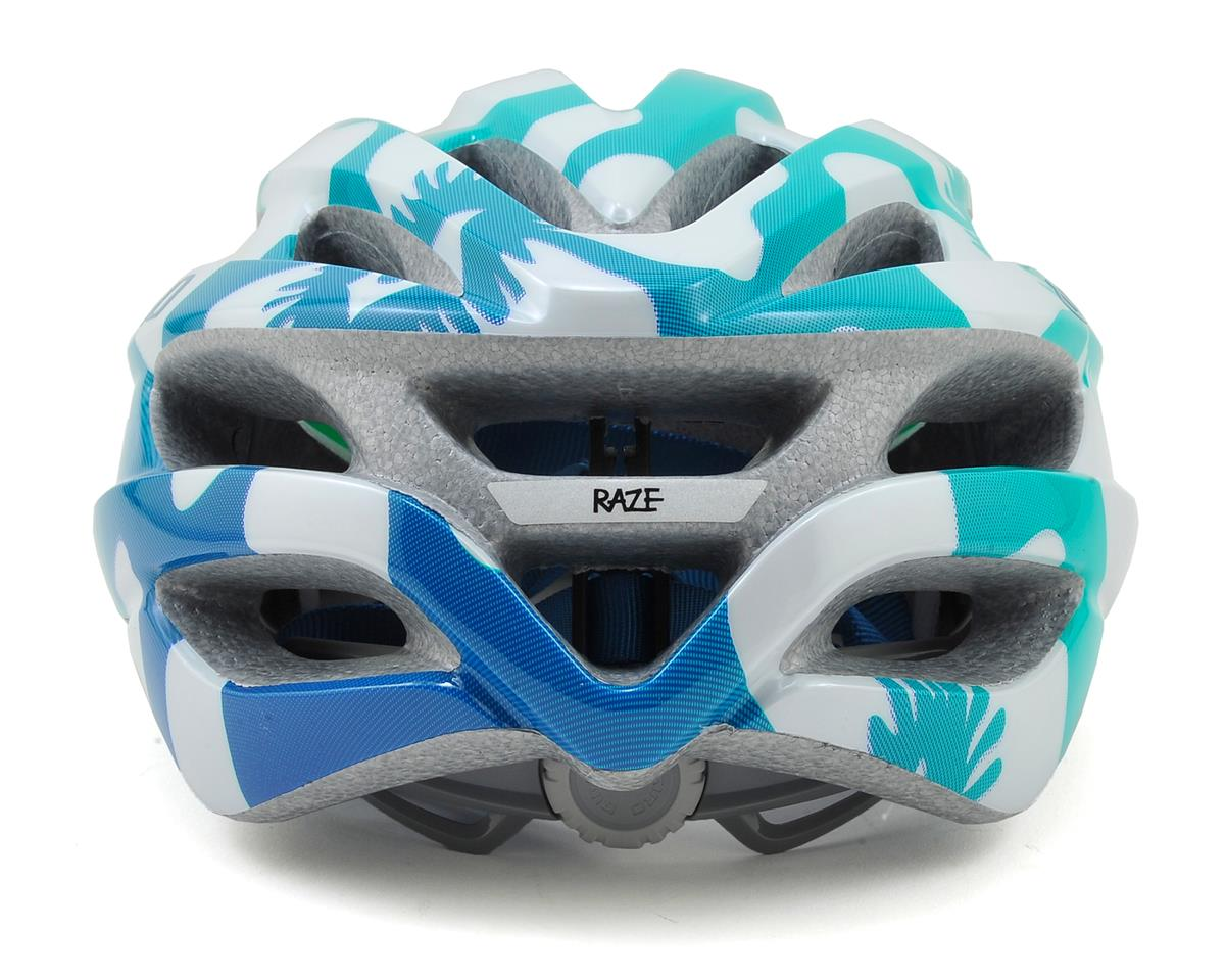 Giro Raze Youth Bike Helmet (Turquoise/Teal Flowers) (One Size)