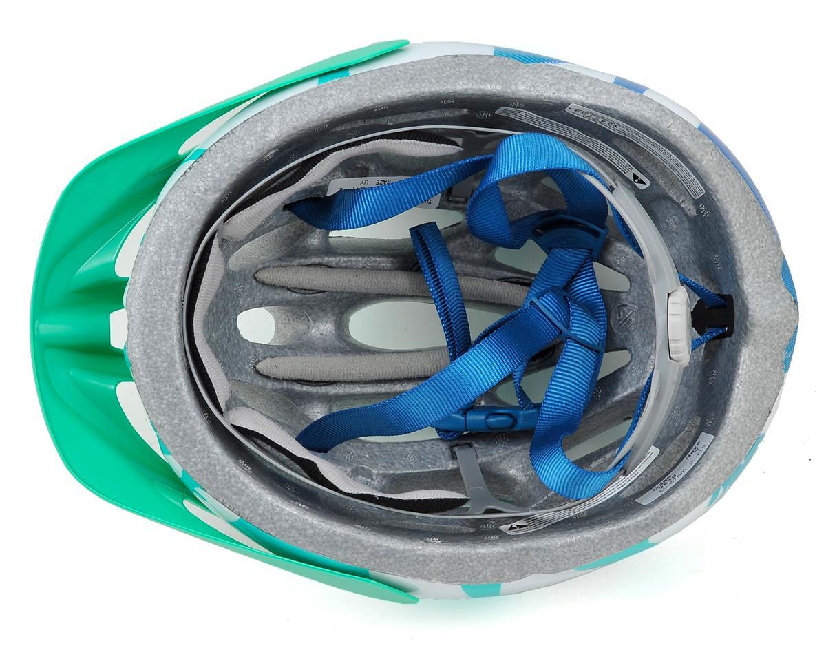 Giro Raze Youth Bike Helmet (Turquoise/Teal Flowers) (One Size)