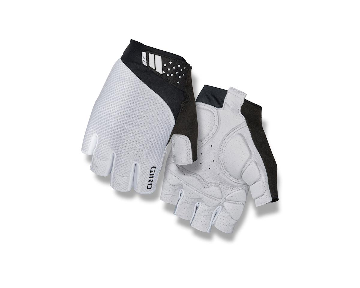 Giro Monaco II Gel Bike Gloves (White) (M)