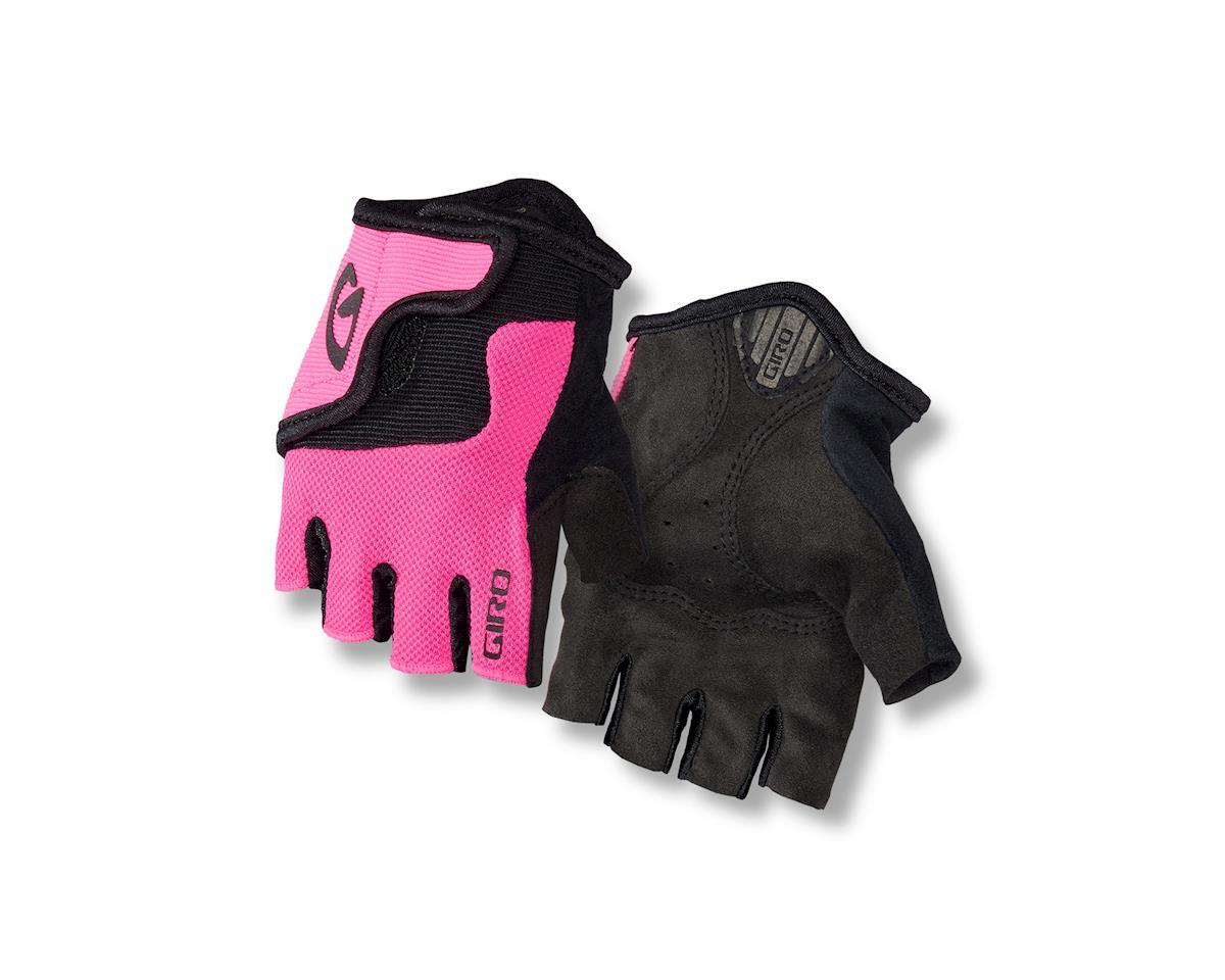 Giro Bravo Jr Gloves (Pink/Black) (XS)