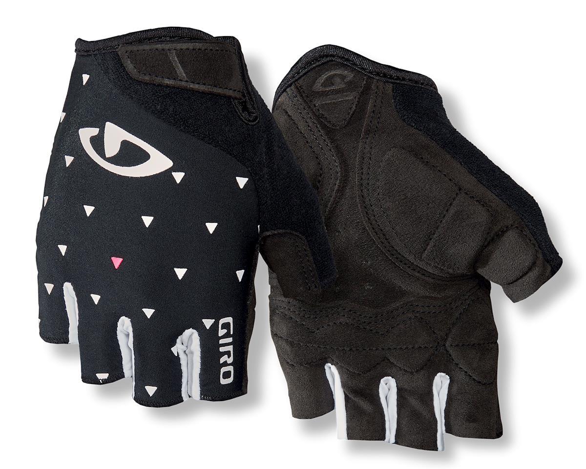 Giro Jag'ette Women's Gloves (Black/White Dots) (M)