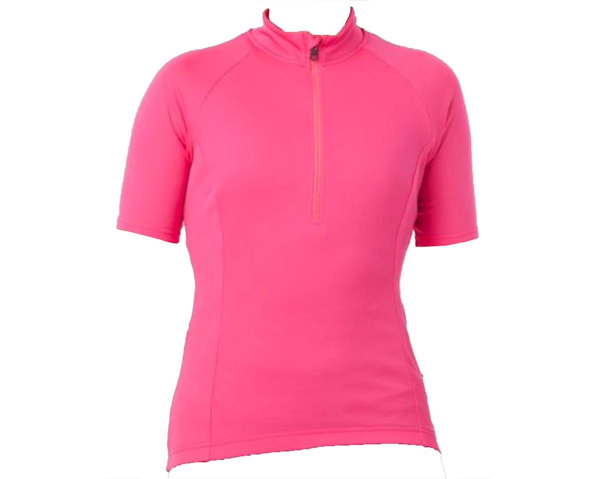 Giro Women's Chrono Sport 1/2 Zip Jersey (Hot Pink)