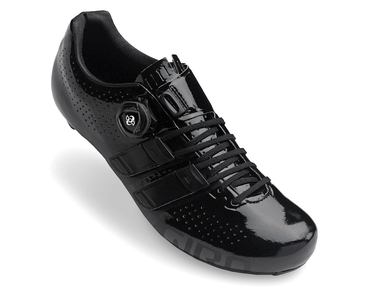 Giro Factor Techlace Road Shoes (Black) (45)