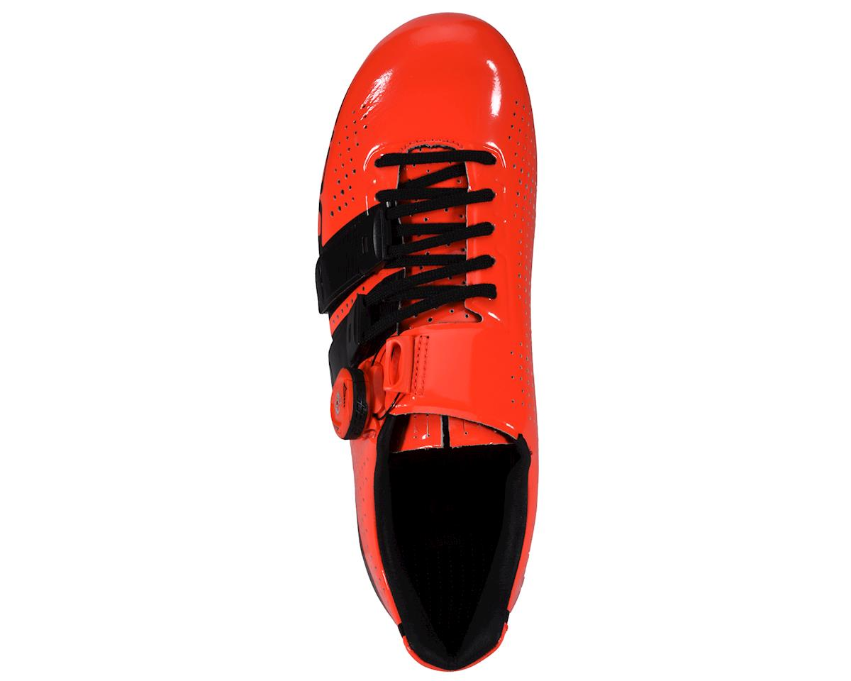 Image 2 for Giro Factor Techlace Road Shoes (Vermillion/Black)