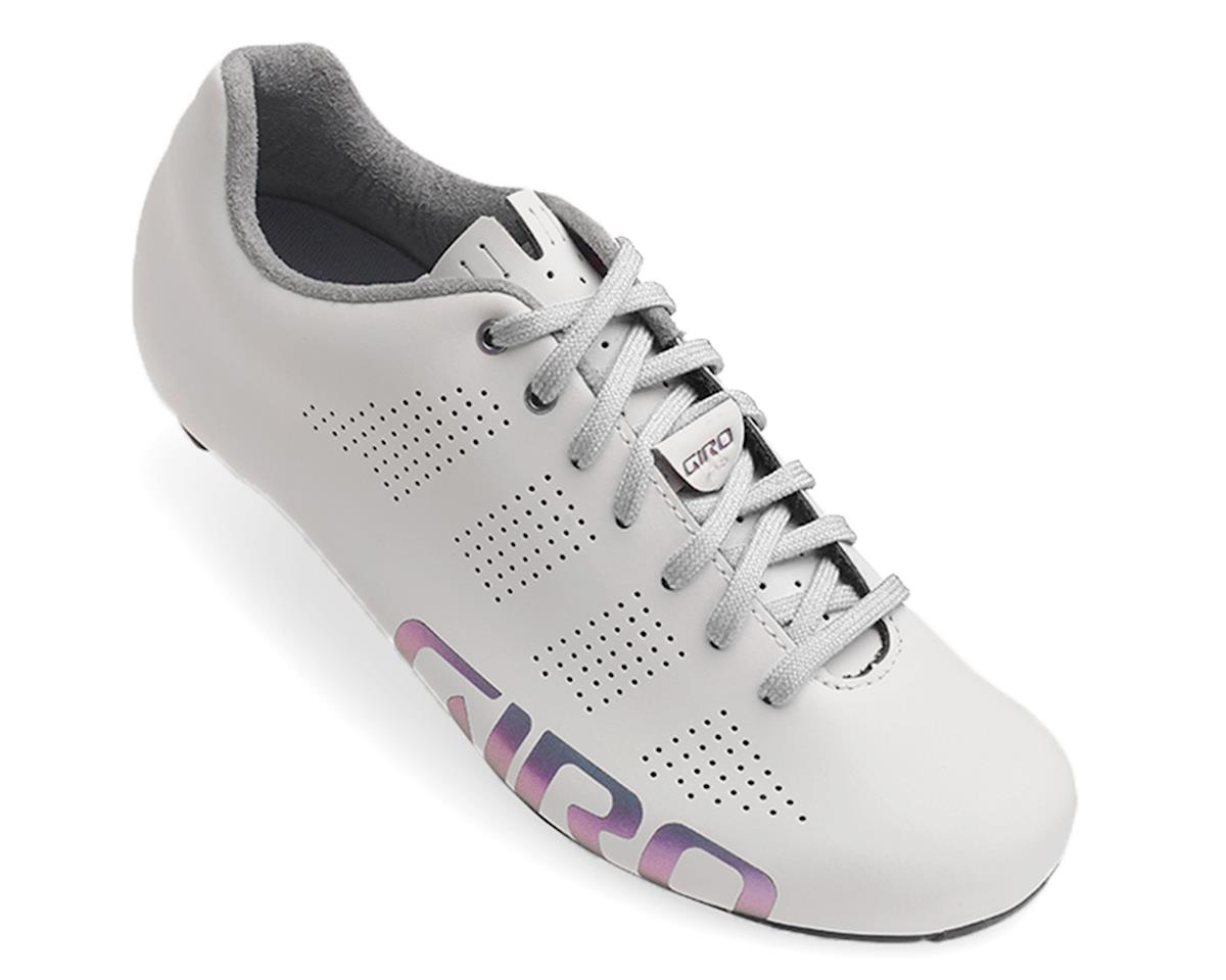 Giro Empire Women ACC Lace Up Road Shoe (White Reflective)